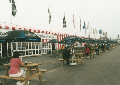Flags-flying-outside-marquee