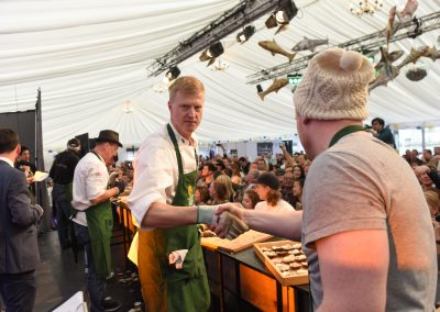 Galway Inernational Oyster and Seafood Festival 2016. Photo: Boyd Challenger